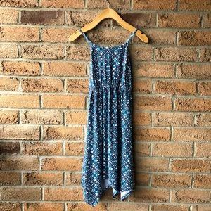 JUICY COUTURE   Blue printed cotton girl 7/8 dress